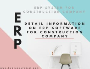 Best ERP System For Construction Company