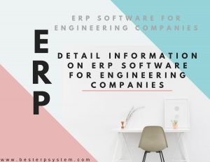 ERP Software For Engineering Companies