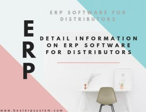 ERP Software For Distributors