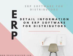 Best Distribution ERP Software