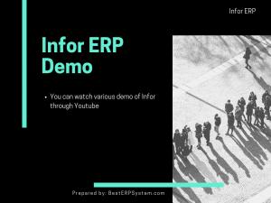 Infor ERP Demo