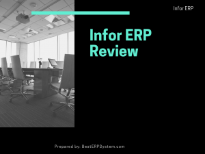 Infor ERP Review