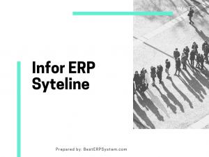 Infor ERP Syteline